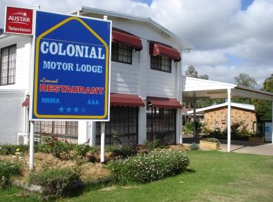 Colonial Motor Lodge - Accommodation Rockhampton
