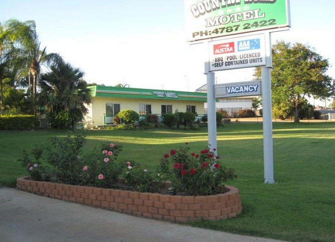 Country Road Motel - Accommodation Rockhampton