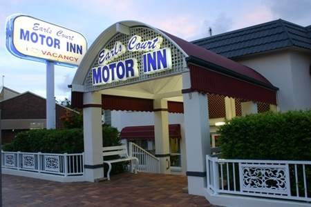Earls Court Motor Inn - Accommodation Rockhampton