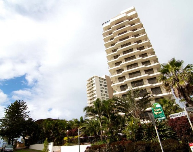 Ocean Royale Apartments - Accommodation Rockhampton