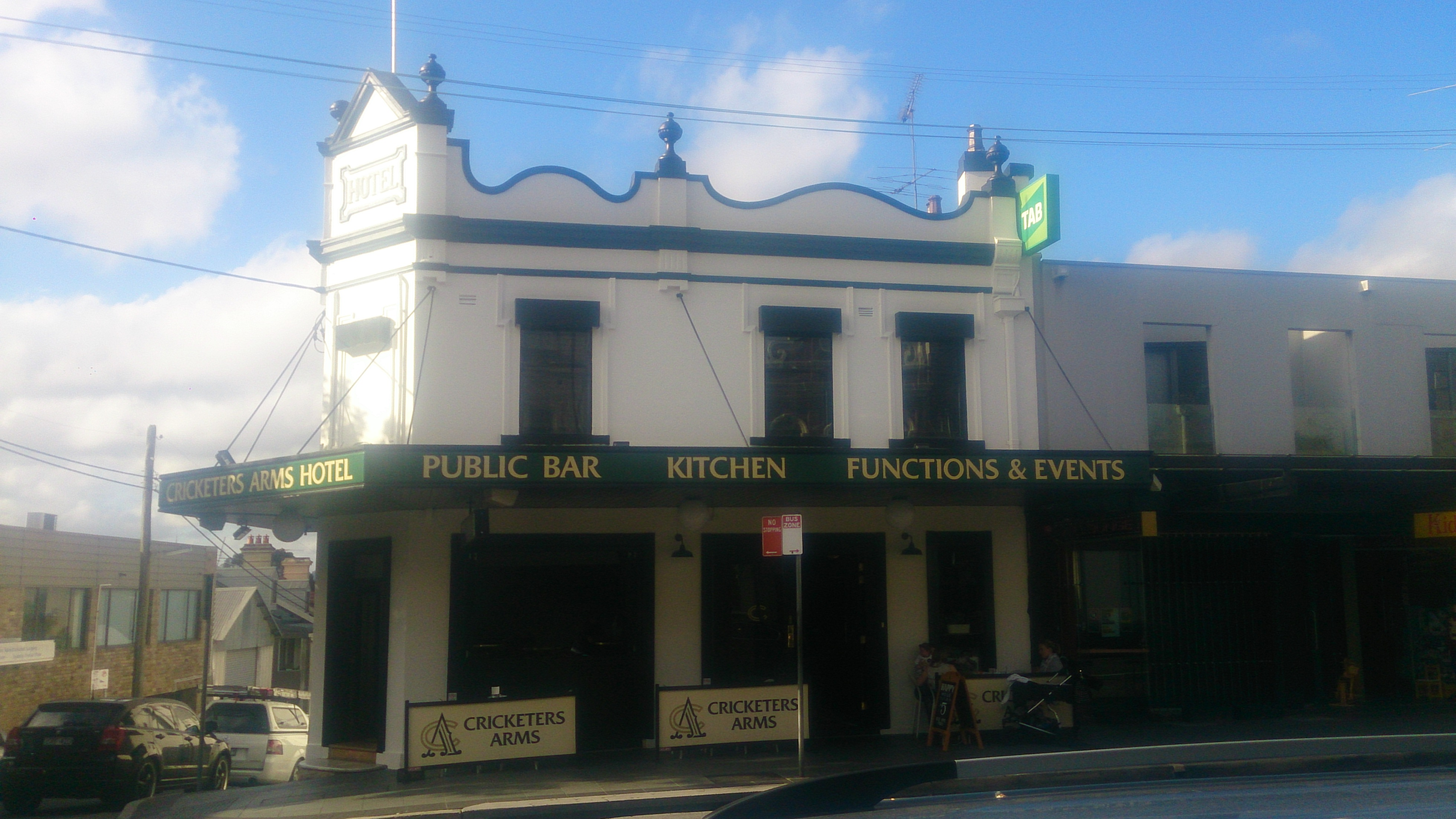Cricketers Arms Hotel - Accommodation Rockhampton