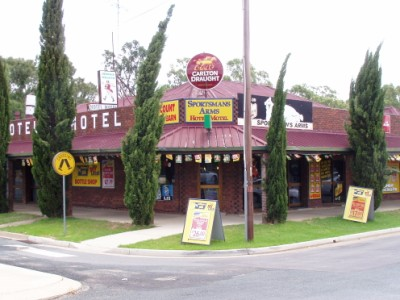Sportsmans Arms Hotel Motel - Accommodation Rockhampton