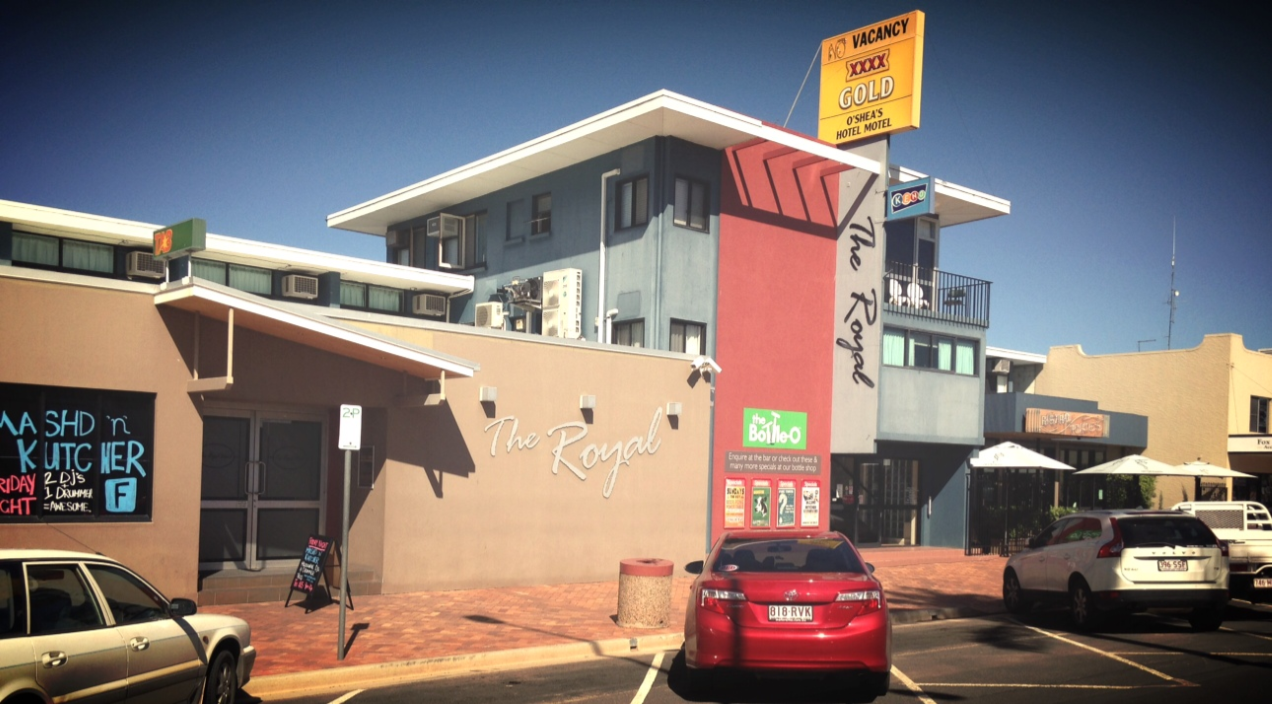 O'shea's Royal Hotel - Accommodation Rockhampton