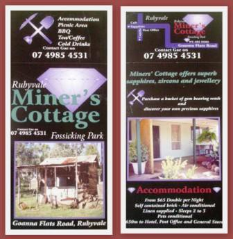 Miner's Cottage - Accommodation Rockhampton