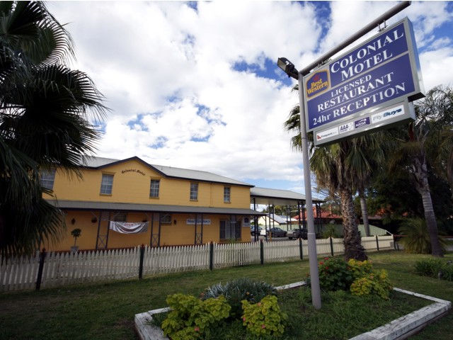 Colonial Motel - Accommodation Rockhampton