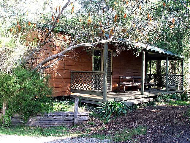 Jervis Bay Cabins  Hidden Creek Real Camping - Accommodation Rockhampton