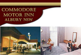Commodore Motor Inn - Accommodation Rockhampton