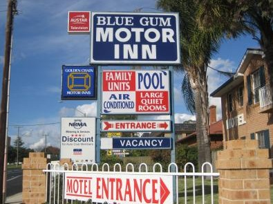 Blue Gum Motor Inn - Accommodation Rockhampton