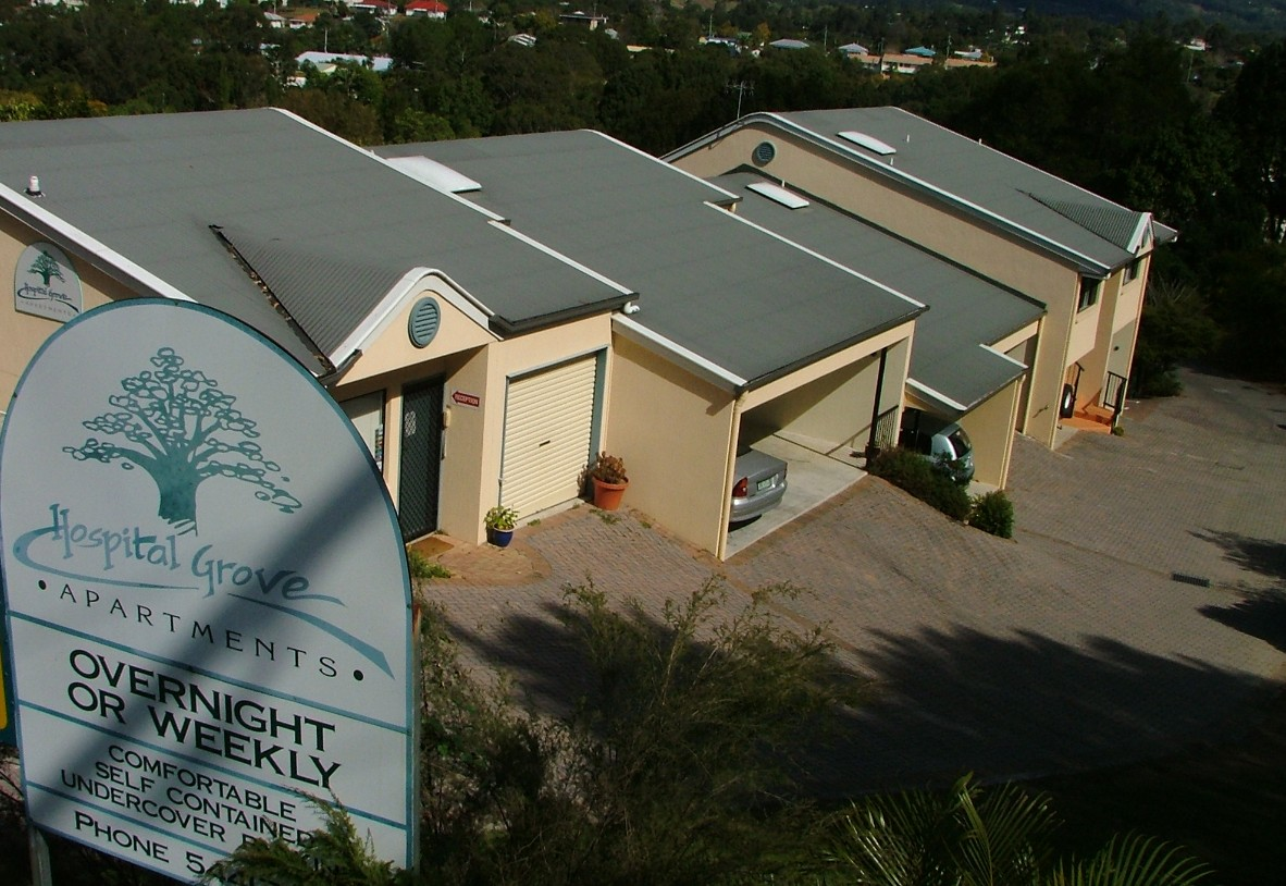 Hospital Grove Apartments - Accommodation Rockhampton