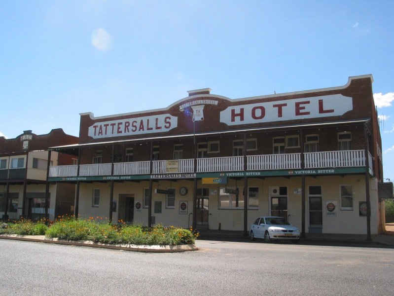 Tattersalls Hotel Baradine - Accommodation Rockhampton