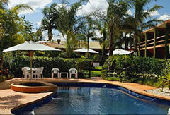 Crystal Fountain Motel - Accommodation Rockhampton