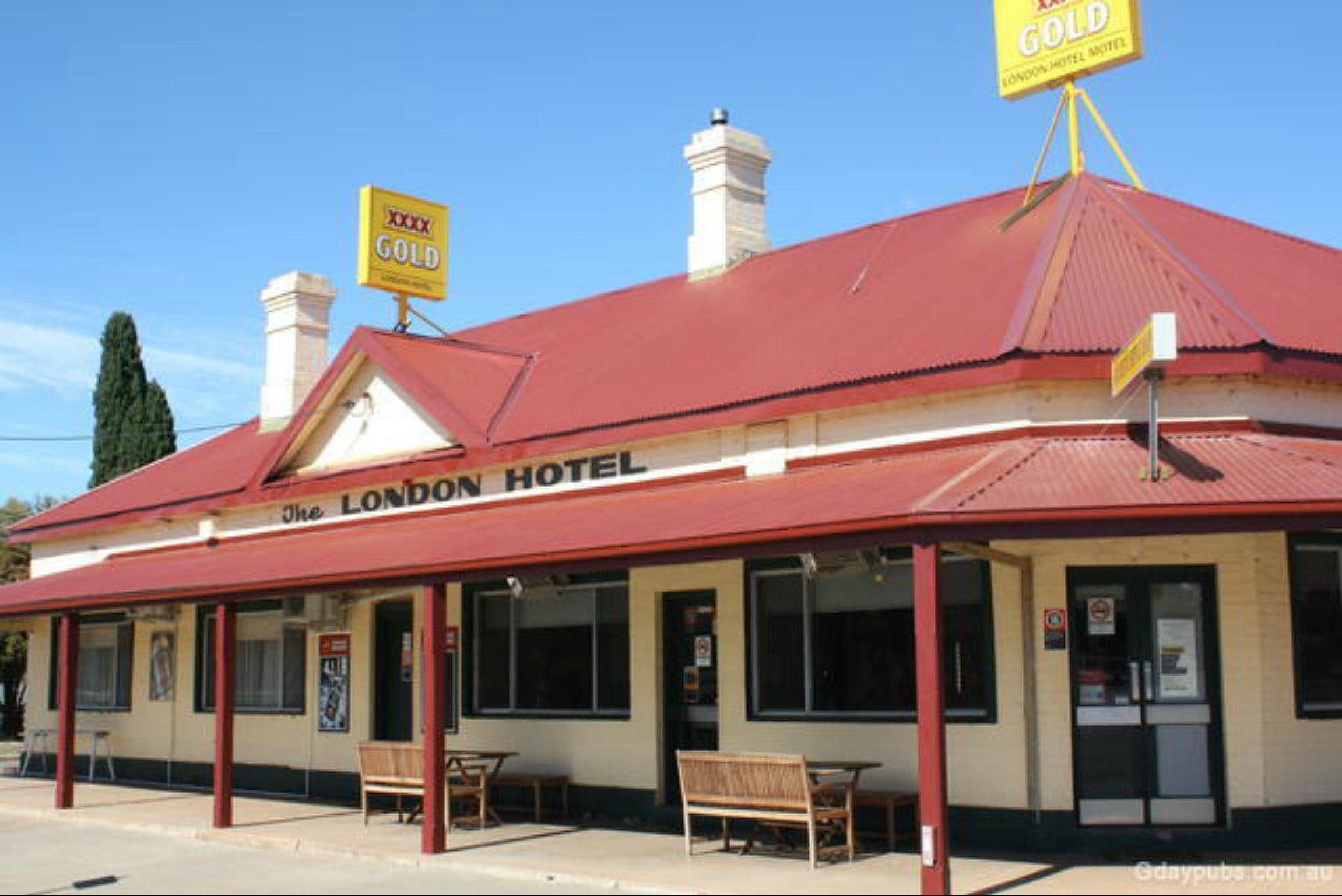 The London Hotel Motel - Accommodation Rockhampton