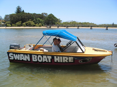 Swan Boat Hire - Accommodation Rockhampton