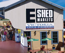 The E Shed Markets - Accommodation Rockhampton