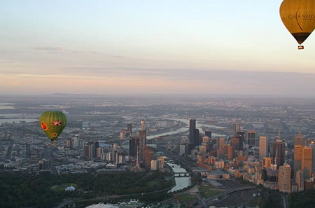 Balloon Flights Over Melbourne - Accommodation Rockhampton