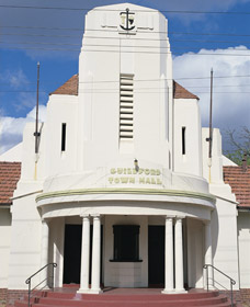 Guildford Town Hall - Accommodation Rockhampton
