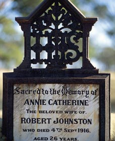 Old Southern Cross Cemetery - Accommodation Rockhampton