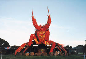 The Big Lobster - Accommodation Rockhampton