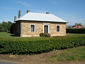Oatlands Court House - Accommodation Rockhampton