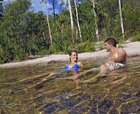 Tjaynera/Sandy Creek Falls - Accommodation Rockhampton