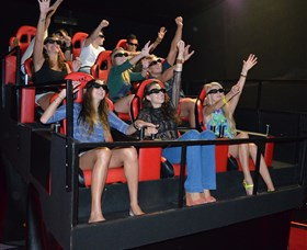 7D Cinema - Virtual Reality - Accommodation Rockhampton