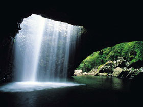 Natural Bridge Springbrook National Park - Accommodation Rockhampton