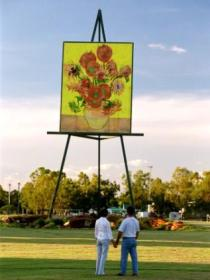 Van Gogh Sunflower Painting - Accommodation Rockhampton