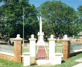 Boonah War Memorial and Memorial Park - Accommodation Rockhampton