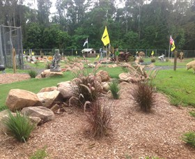 The Cove Miniature Golf Course - Accommodation Rockhampton