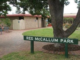 Reg McCallum Park - Accommodation Rockhampton