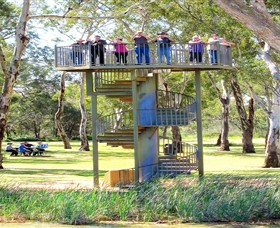 Darling and Murray River Junction and Viewing Tower - Accommodation Rockhampton
