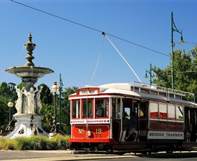 Bendigo Tramways Vintage Talking Tram