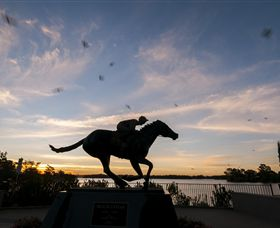 Black Caviar Statue - Accommodation Rockhampton