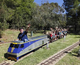 Willans Hill Miniature Railway - Accommodation Rockhampton