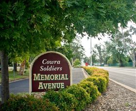 Memorial Avenue in Cowra - Accommodation Rockhampton