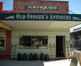 Old Codgers Antiques - Accommodation Rockhampton