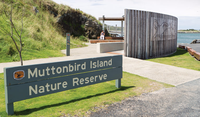 Muttonbird Island Outdoor learning space
