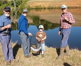 Natone Hills Fly Fishery - Accommodation Rockhampton