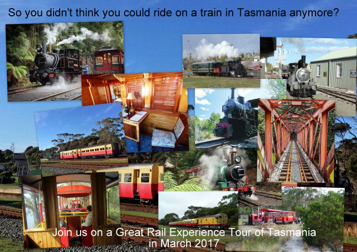 Great Rail Experiences  Tasmania Tour 2017 - Accommodation Rockhampton