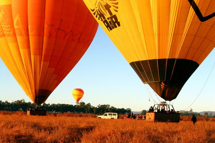 Hot Air Balloon Scenic Rim - Accommodation Rockhampton