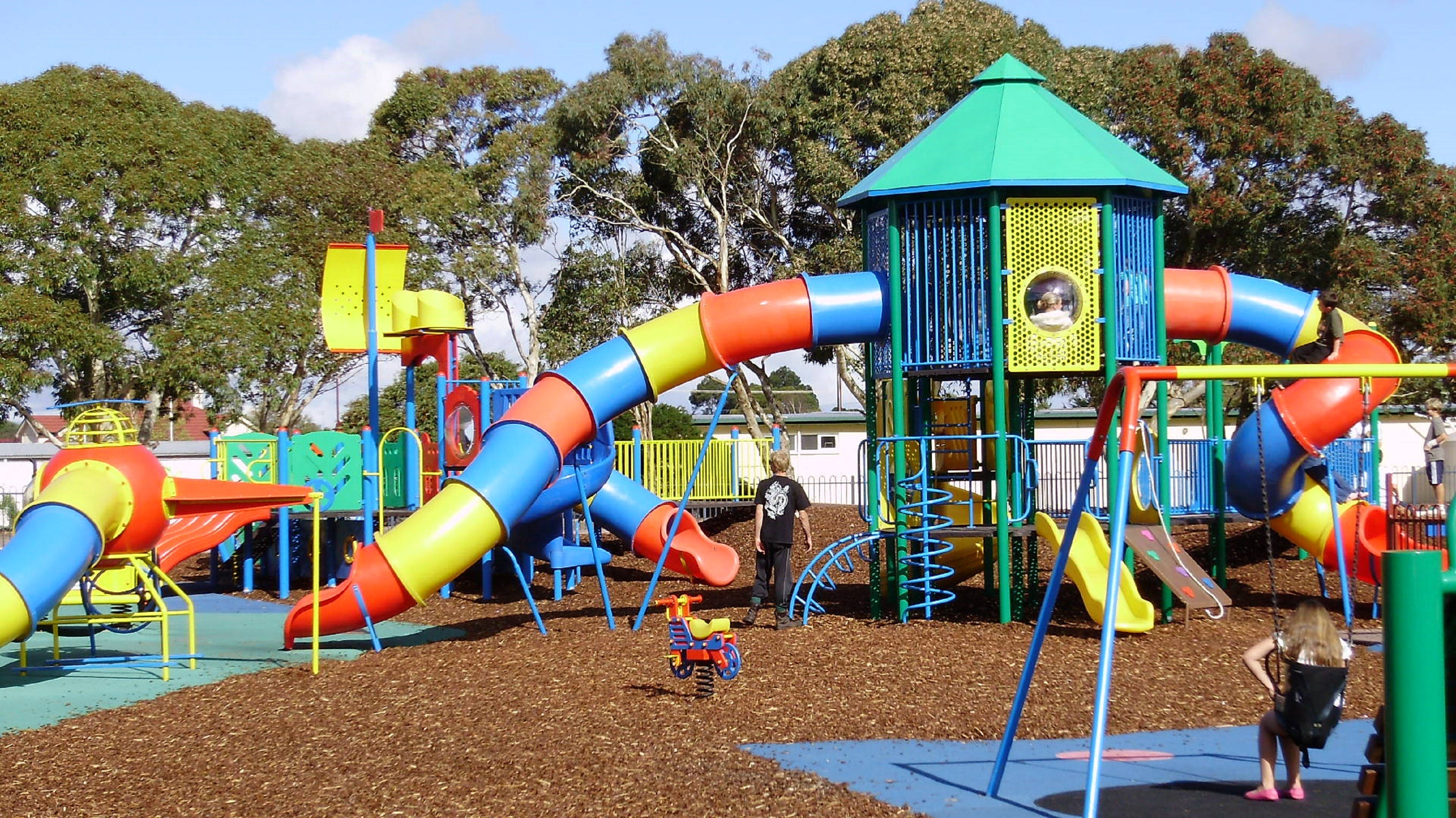 Millicent Mega Playground in The Domain - Accommodation Rockhampton