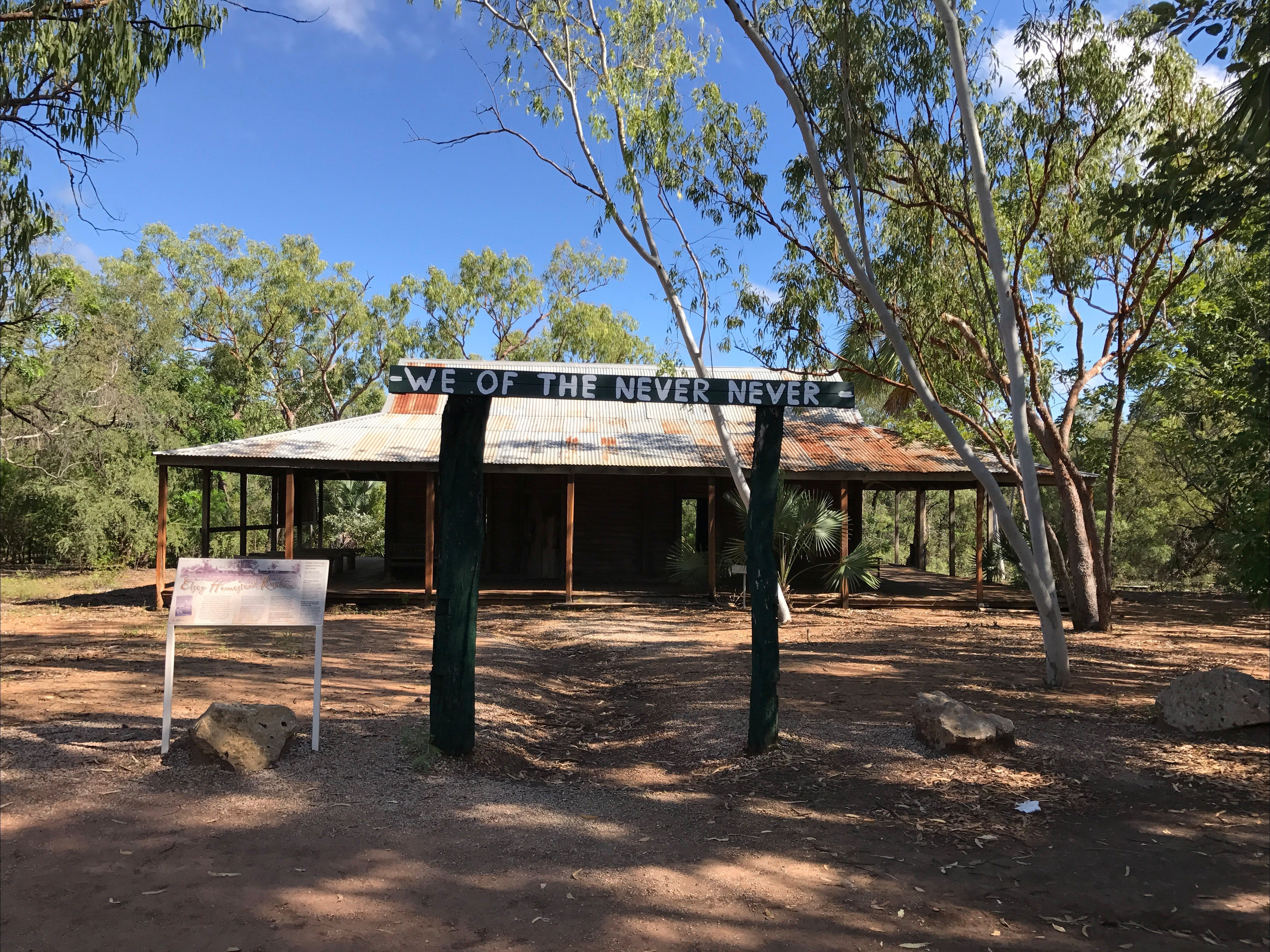 Elsey Homestead Replica - Accommodation Rockhampton