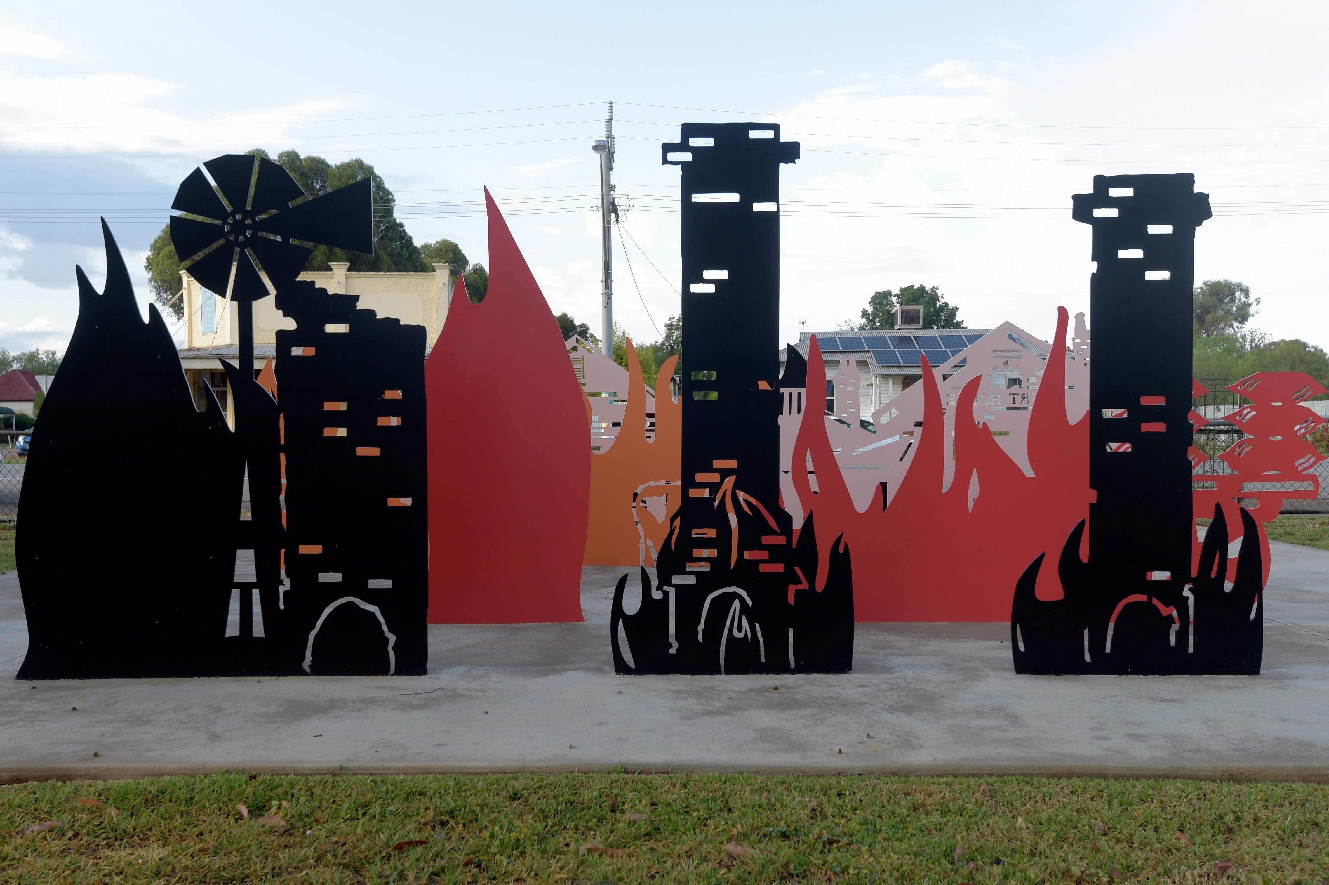 Lyrics Landscapes and Lintels - Leeton Public Art Trail - Accommodation Rockhampton