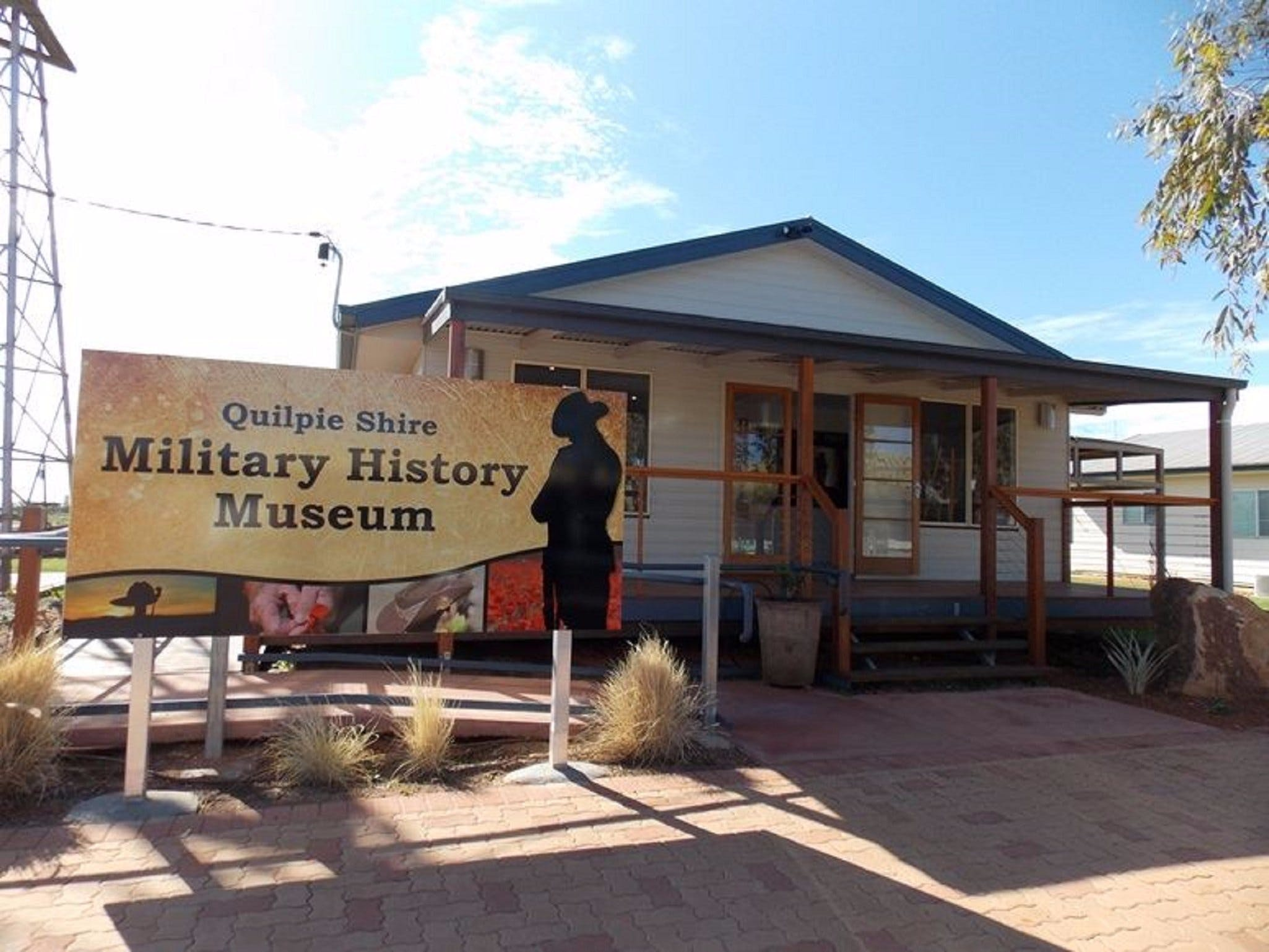 Quilpie Shire Military History Museum - Accommodation Rockhampton