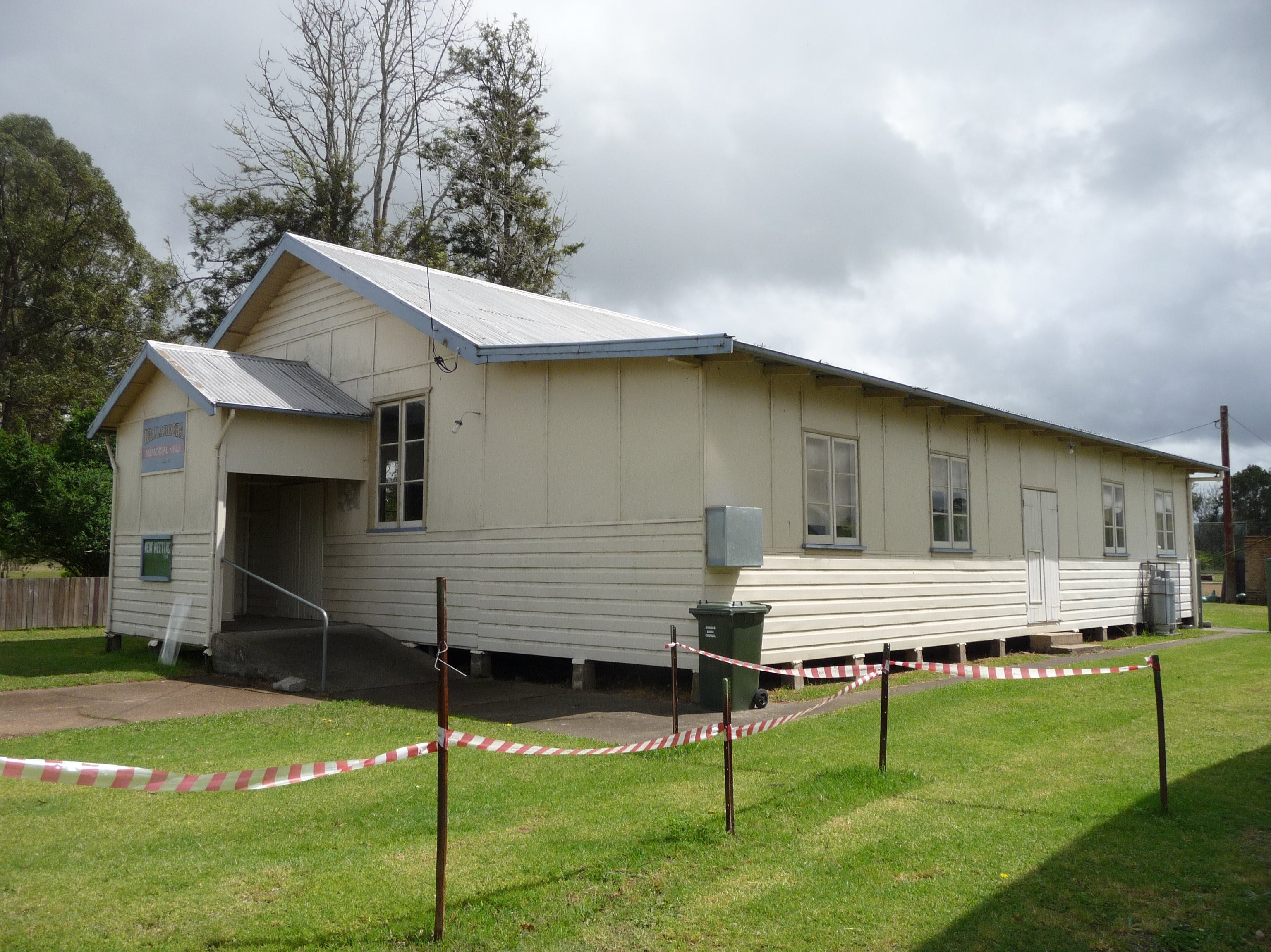 Wallarobba Memorial Hall - Accommodation Rockhampton