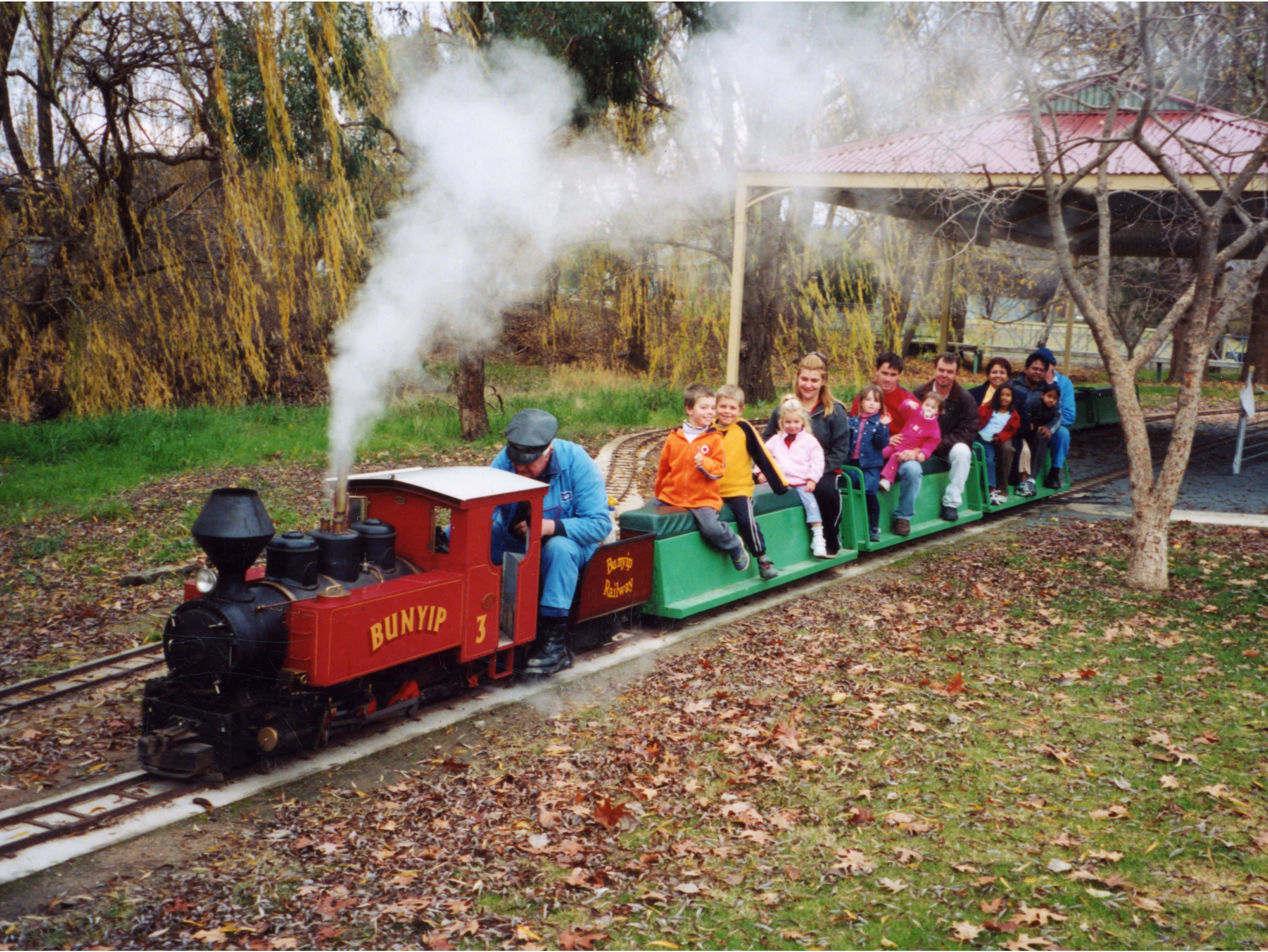Holbrook Miniature Railway - Accommodation Rockhampton