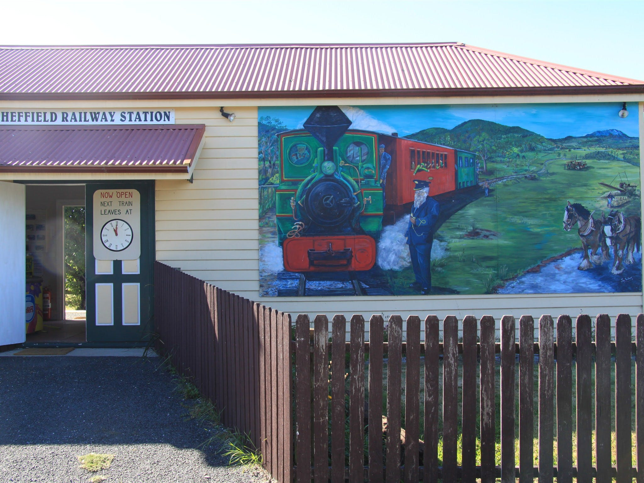 Redwater Creek Railway - Accommodation Rockhampton