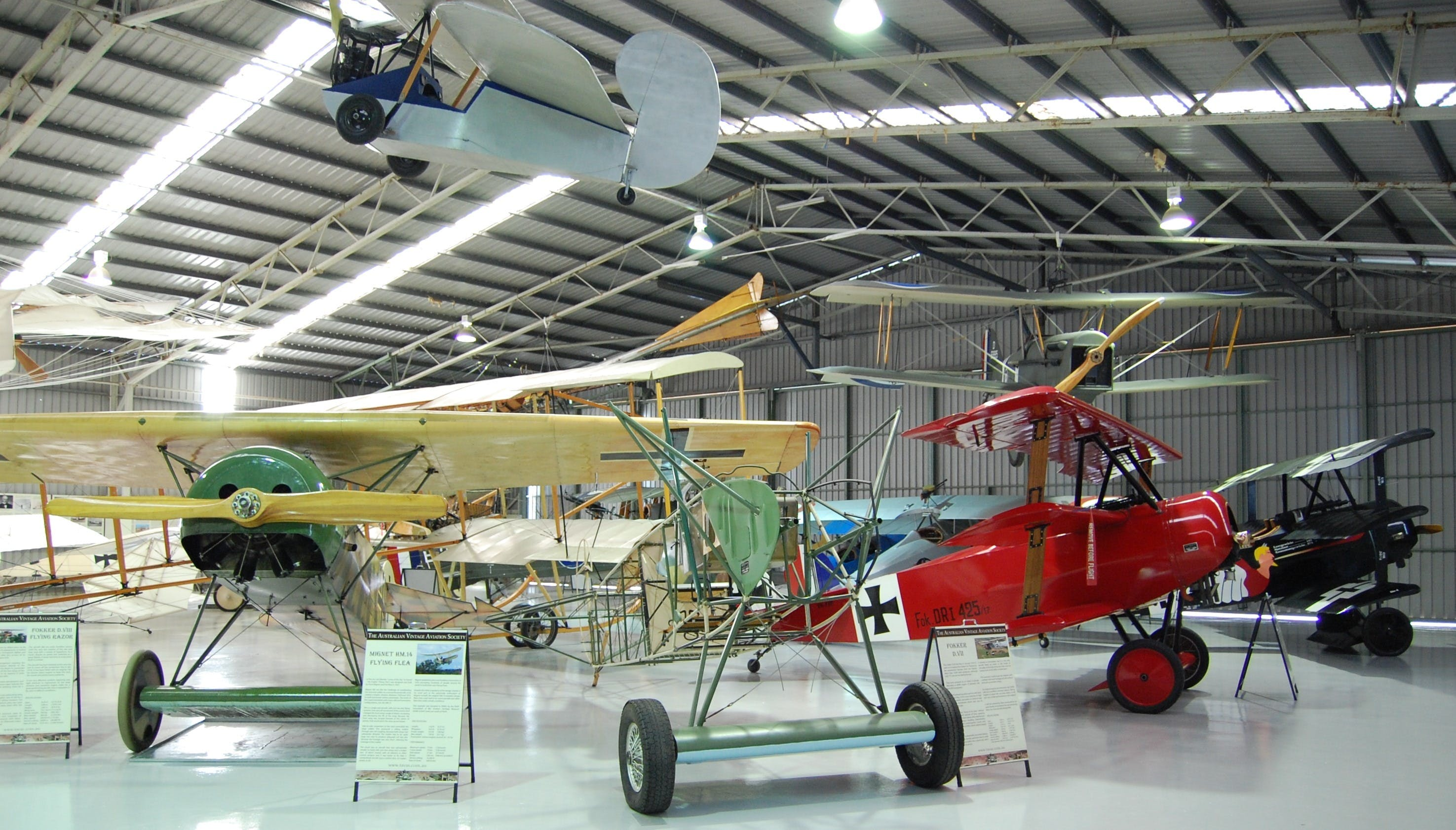 The Australian Vintage Aviation Society Museum - Accommodation Rockhampton