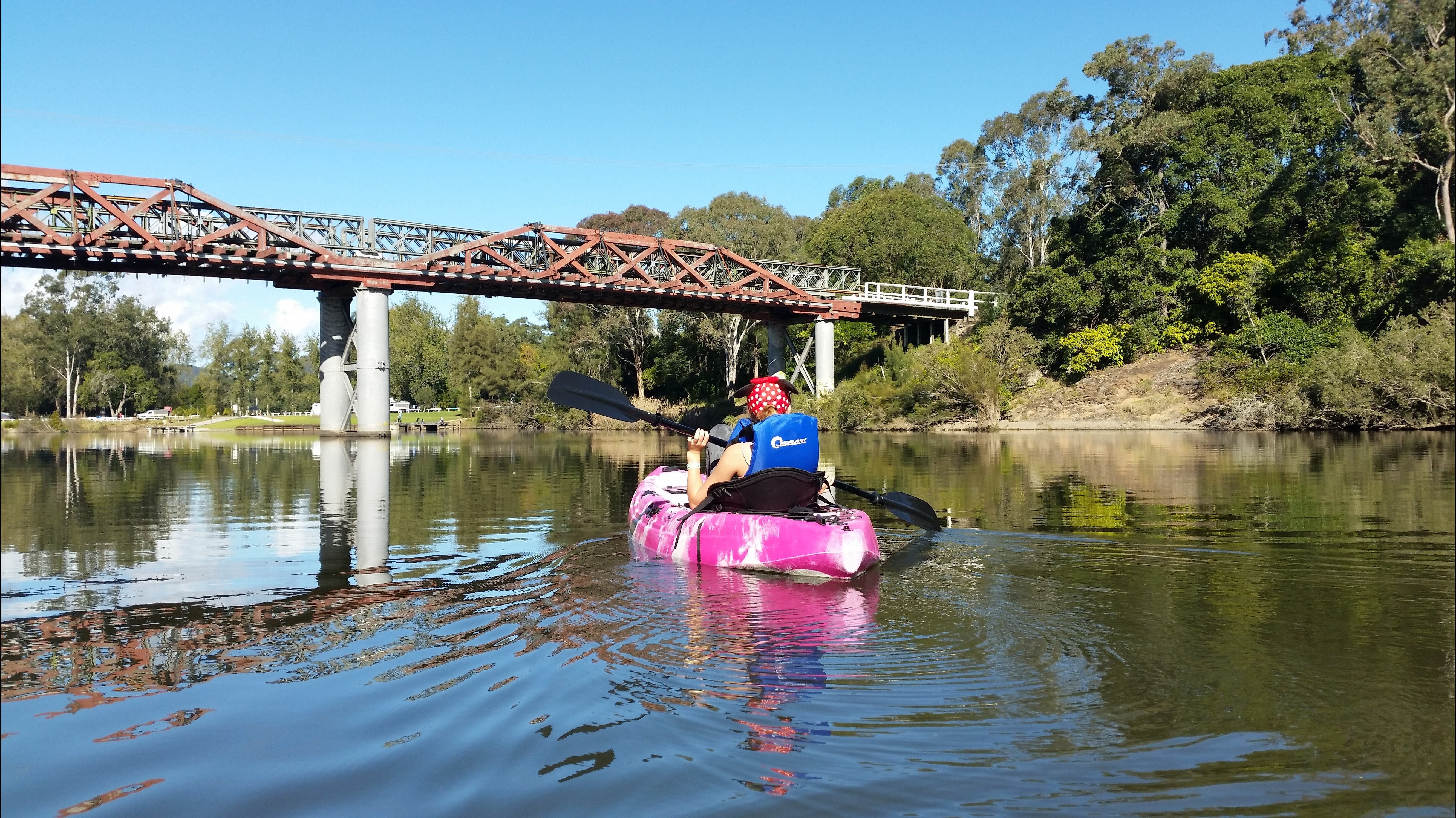 Canoeing at Clarence Town - Accommodation Rockhampton