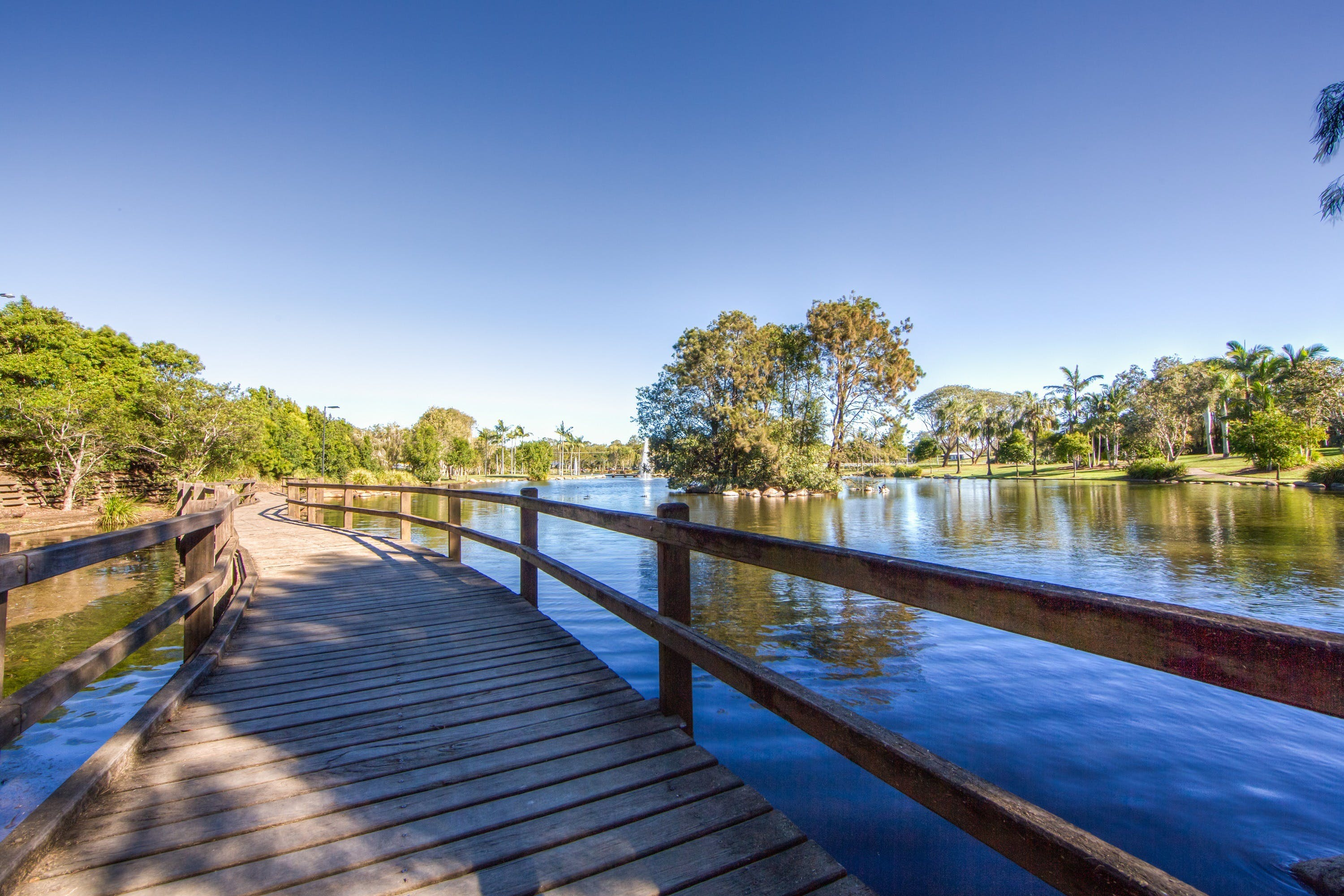 Centenary Lakes Park - Accommodation Rockhampton